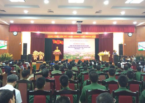 """Phát động Cuộc thi trắc nghiệm """"Tìm hiểu 90 năm lịch sử vẻ vang của Đảng Cộng sản Việt Nam"""""""