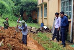 Quan tâm đầu tư công trình vệ sinh trong trường học