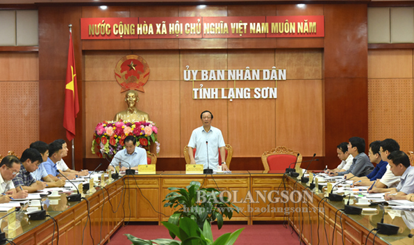 Lãnh đạo UBND tỉnh kiểm tra công tác chuẩn bị kỷ niệm 110 năm ngày sinh đồng chí Hoàng Văn Thụ
