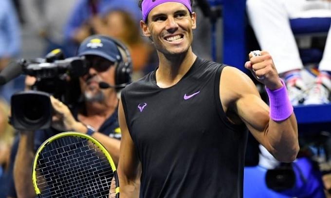 Vào chung kết Mỹ mở rộng, Nadal áp sát danh hiệu Grand Slam thứ 19