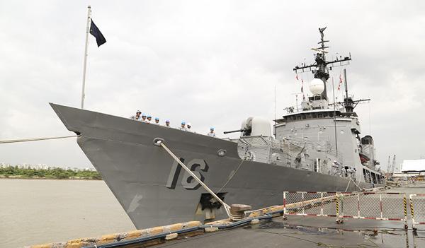 Tàu Hải quân Philippines thăm thành phố Hồ Chí Minh