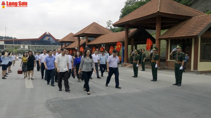Đoàn đại biểu tỉnh Lạng Sơn thăm, làm việc tại Quảng Tây và Quảng Đông (Trung Quốc)