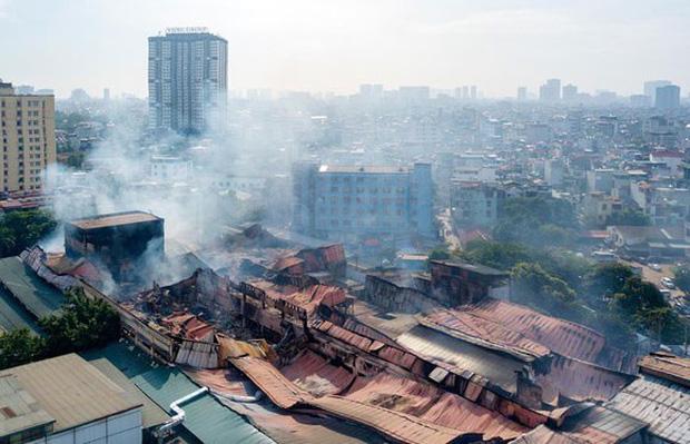 Thông tin chính thức về môi trường sau vụ cháy Công ty Rạng Đông