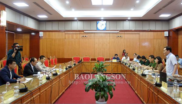 Lãnh đạo UBND tỉnh làm việc với Tập đoàn Hoàng Anh Gia Lai