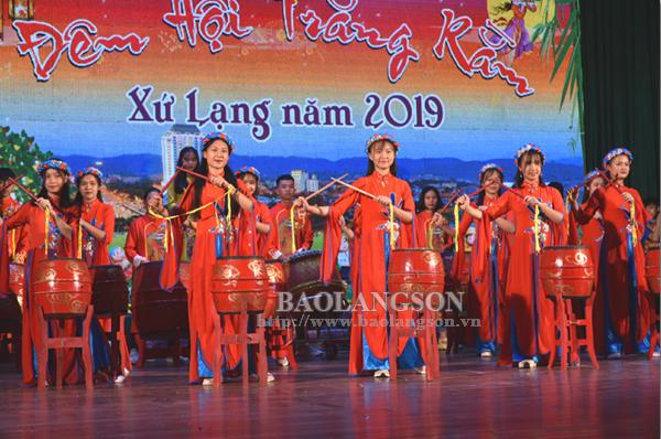 Gần 1.200 người tham dự Đêm hội trăng rằm xứ Lạng 2019