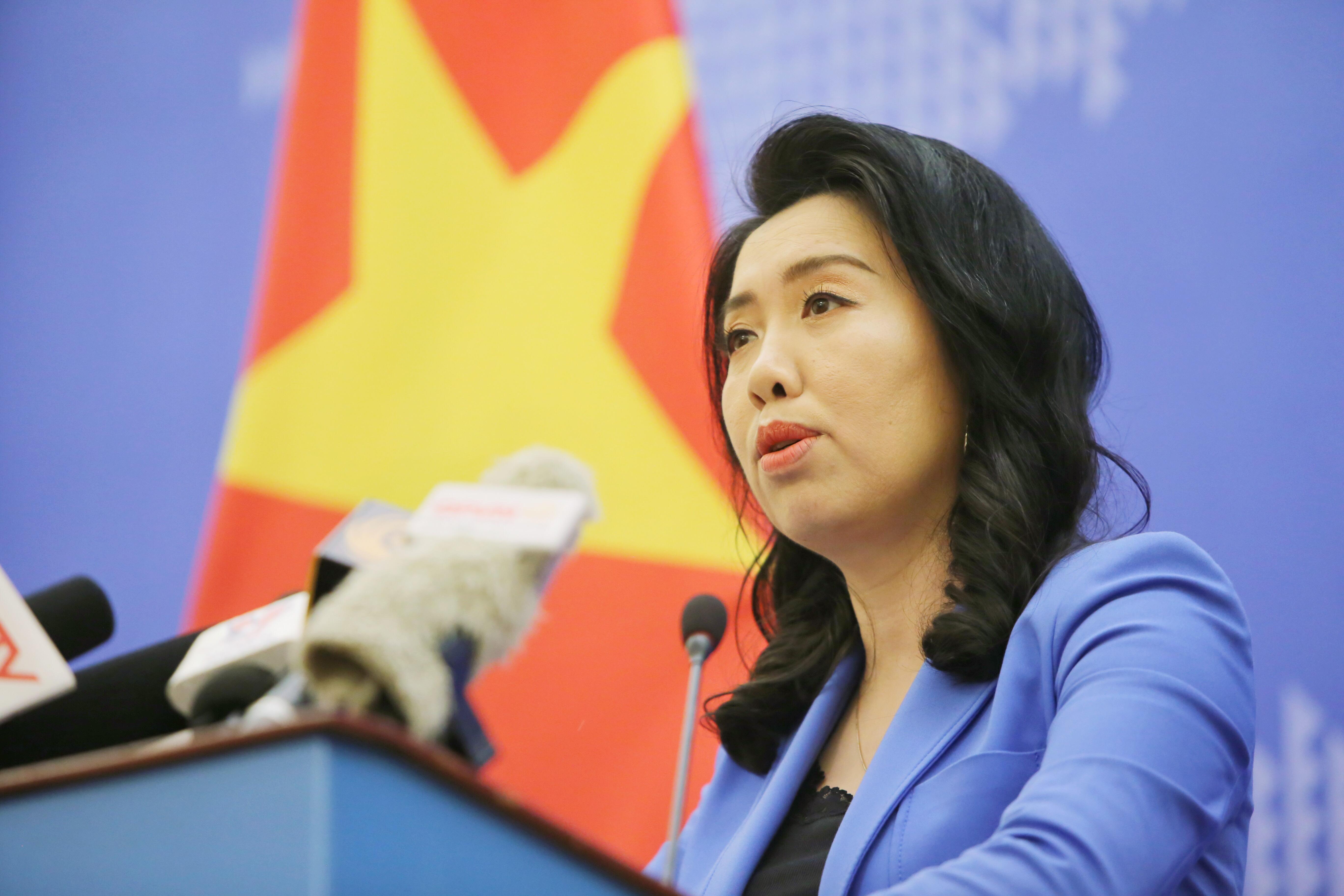 Việt Nam kiên quyết phản đối hành động vi phạm của nhóm tàu Hải Dương 08