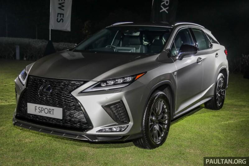 Lexus RX 2019 bản nâng cấp ra mắt công chúng