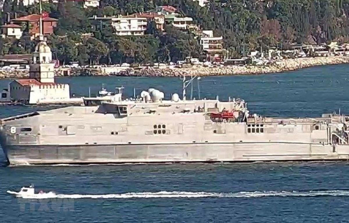 Nga theo dõi chặt chẽ tàu Mỹ hoạt động tại Biển Đen