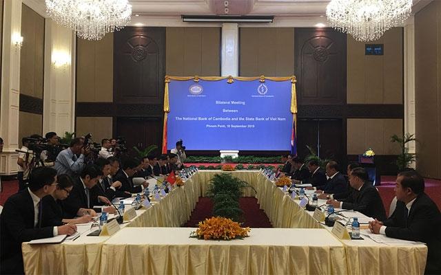 Ngân hàng Nhà nước tăng cường quan hệ với đối tác Campuchia