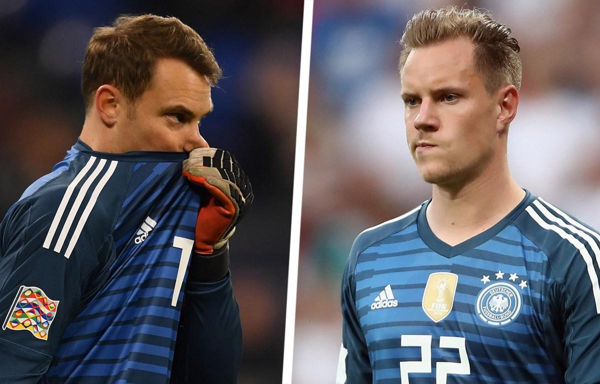 Đội tuyển Đức lại rối ren: Cuộc chiến Neuer-ter Stegen bắt đầu!