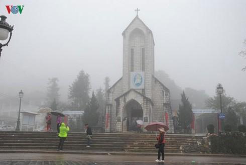 Một số nơi ở miền núi Tây Bắc chạm ngưỡng rét hại