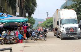 Cửa khẩu Tân Thanh: Nhiều tuyến vỉa hè bị lấn chiếm