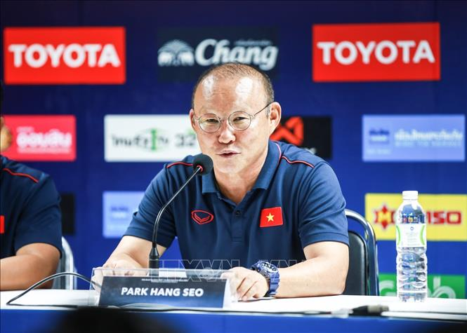 Huấn luyện viên Park Hang Seo muốn triệu tập một lực lượng nhiều gương mặt mới