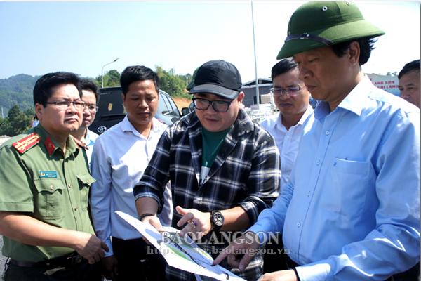 Chủ tịch UBND tỉnh kiểm tra công tác chuẩn bị thông xe kỹ thuật tuyến cao tốc Bắc Giang-Lạng Sơn