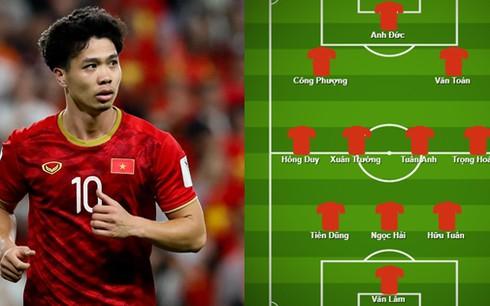 Dự đoán đội hình tối ưu của ĐT Việt Nam nếu vắng các cầu thủ Hà Nội FC