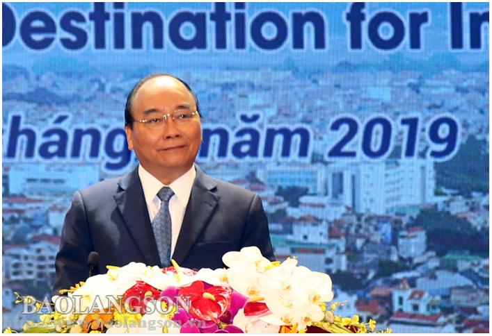 Thủ tướng Nguyễn Xuân Phúc dự Hội nghị Xúc tiến đầu tư tỉnh Lạng Sơn năm 2019
