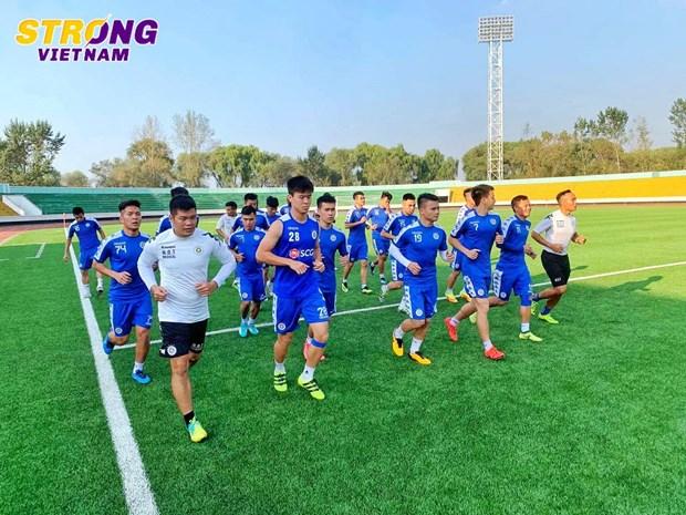 Hà Nội FC 'luyện công,' sẵn sàng cho trận đấu lịch sử với April 25