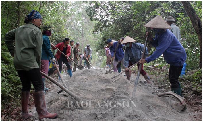 Xây dựng nông thôn mới: Bước chuyển vùng biên