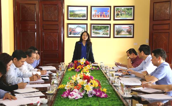 Bí thư Tỉnh ủy kiểm tra công tác chỉnh trang, tôn tạo khu lưu niệm và khu tưởng niệm đồng chí Hoàng Văn Thụ