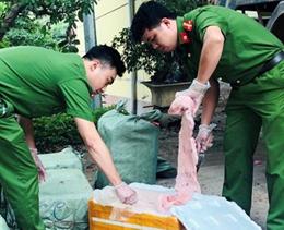 """Công an Cao Lộc: Đấu tranh ngăn chặn thực phẩm """"bẩn"""" nhập lậu"""