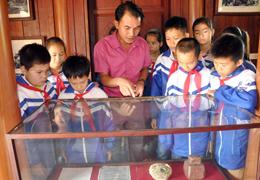 Đồng chí Hoàng Văn Thụ trên cương vị là bí thư chi bộ đầu tiên của tỉnh Lạng Sơn