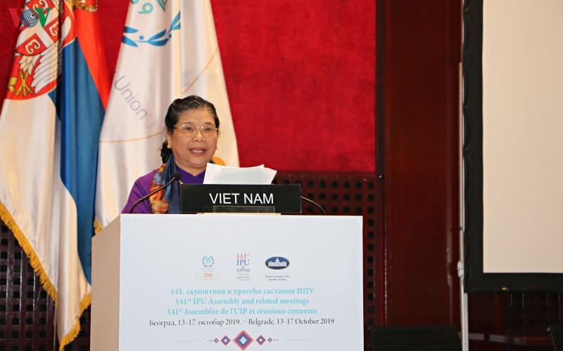 Phó Chủ tịch Thường trực QH nêu 5 kiến nghị tại IPU-141