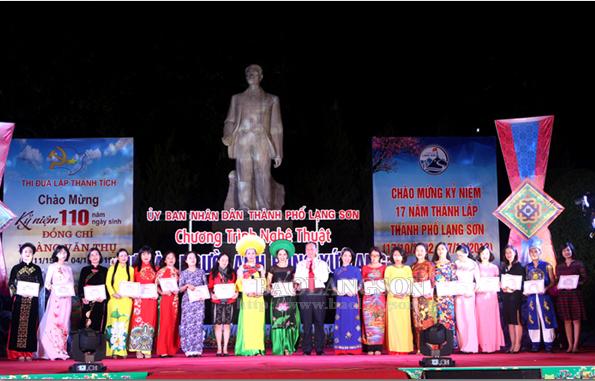 """81 tiết mục tham gia liên hoan nghệ thuật """"Tự hào người anh hùng xứ Lạng"""""""