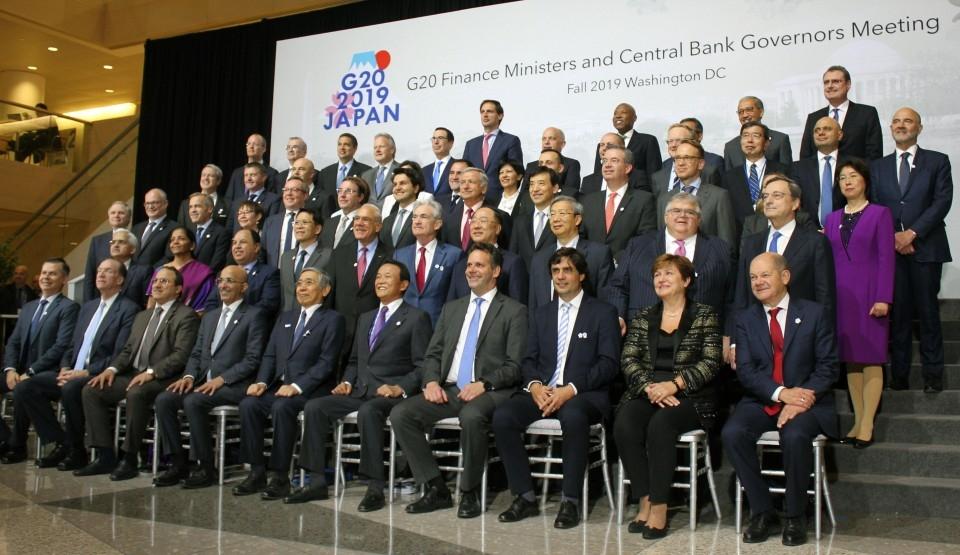 G20 cảnh báo nguy cơ bất lợi với nền kinh tế toàn cầu