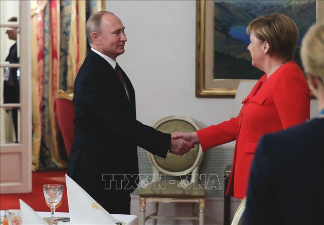 Tổng thống Nga điện đàm với Thủ Tướng Đức về tình hình Syria