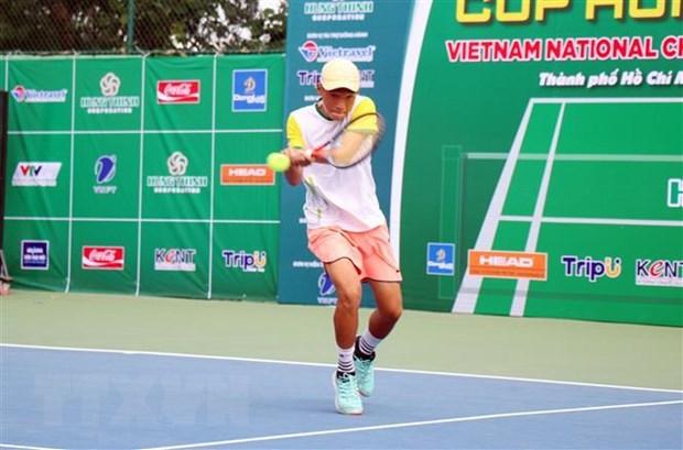 Hơn 100 tay vợt tham dự Giải quần vợt vô địch quốc gia Cúp Hưng Thịnh