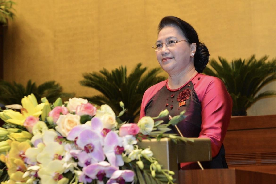 Phát biểu khai mạc kỳ họp thứ 8 của Chủ tịch Quốc hội