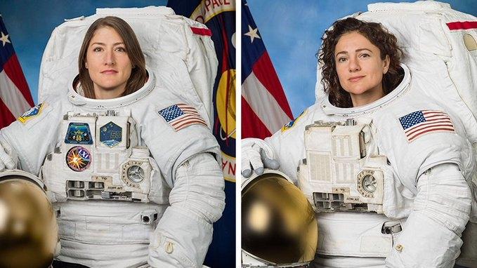 Hai nữ du hành đầu tiên đi bộ ngoài vũ trụ và giấc mơ đặt chân lên mặt trăng