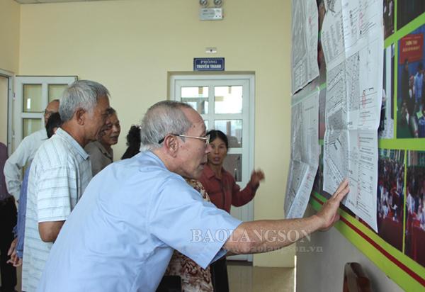 Công bố quyết định phê duyệt điều chỉnh cục bộ quy hoạch chi tiết phường Vĩnh Trại
