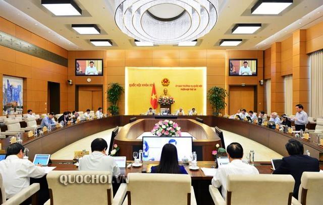 Công bố sáu Nghị quyết của Ủy ban Thường vụ Quốc hội