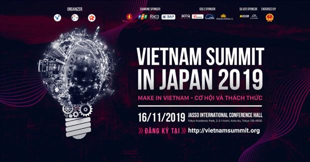"""500 trí thức Việt Nam và Nhật Bản tham gia diễn đàn """"Make in Vietnam"""""""