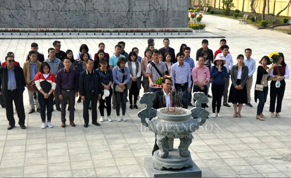 Khảo sát tour, tuyến du lịch tại tỉnh Lạng Sơn