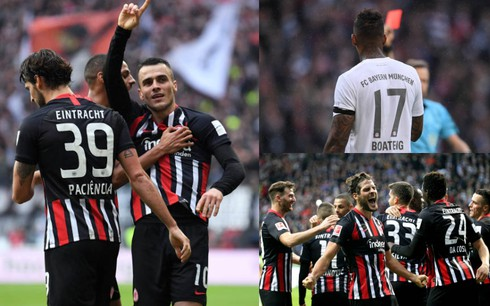 "Frankfurt 5-1 Bayern: ""Hùm xám"" muối mặt"