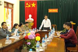 Phân công cấp ủy dự sinh hoạt chi bộ: Ghi nhận ở Đảng bộ huyện Chi Lăng