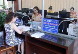Thanh niên Công an tỉnh: Tình nguyện giải quyết thủ tục hành chính cho người dân ngày thứ 7