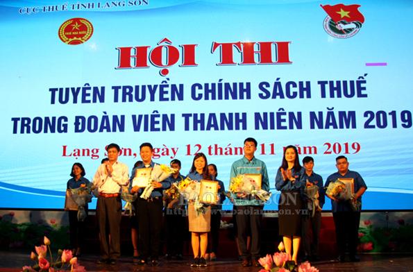 11 đội tham gia hội thi tuyên truyền chính sách thuế trong đoàn viên thanh niên