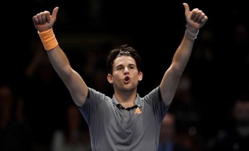 Thắng Djokovic, Thiem giành vé vào bán kết ATP Finals