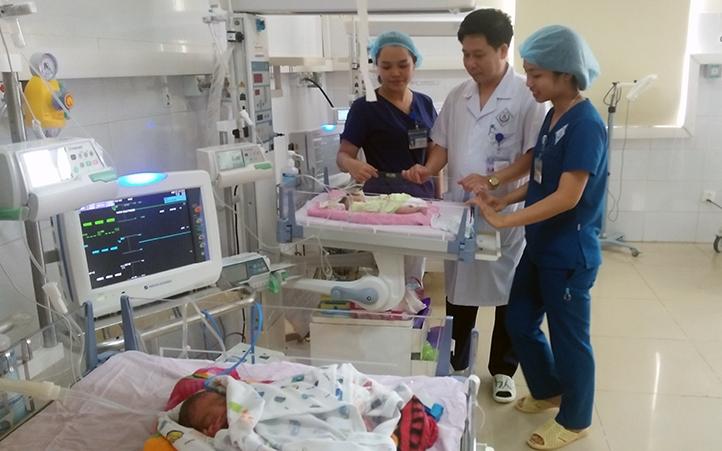 Hiệu quả tuyến bệnh viện vệ tinh ở Thái Nguyên