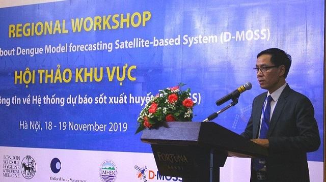 Việt Nam sẽ dự báo được dịch sốt xuất huyết trước sáu tháng