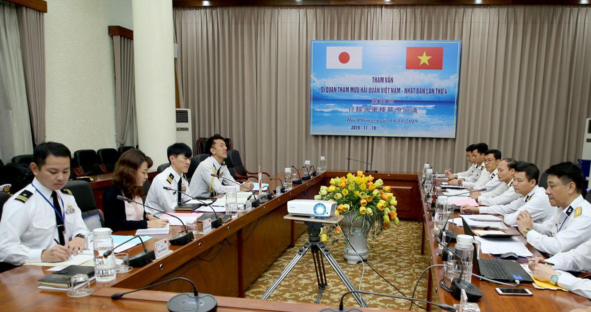 Tham vấn sĩ quan tham mưu Hải quân Việt Nam-Nhật Bản lần thứ 4