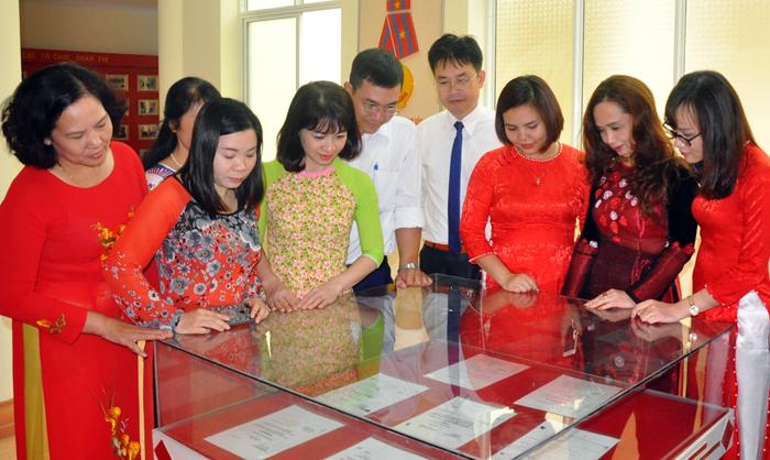 Phát huy truyền thống 70 năm Trường Chính trị Hoàng Văn Thụ