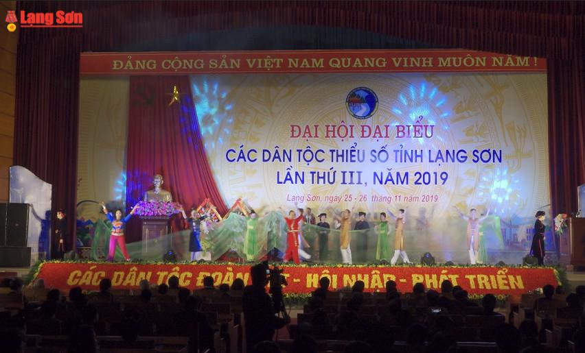 Đại hội Đại biểu các dân tộc thiểu số tỉnh lần thứ III, năm 2019