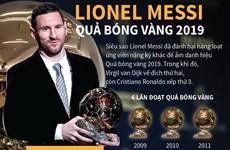 Lionel Messi lần thứ sáu đoạt Quả bóng Vàng