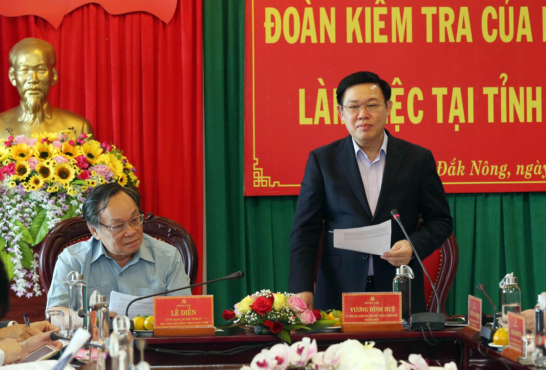 Bộ Chính trị đánh giá việc xây dựng cán bộ ở Đắk Nông