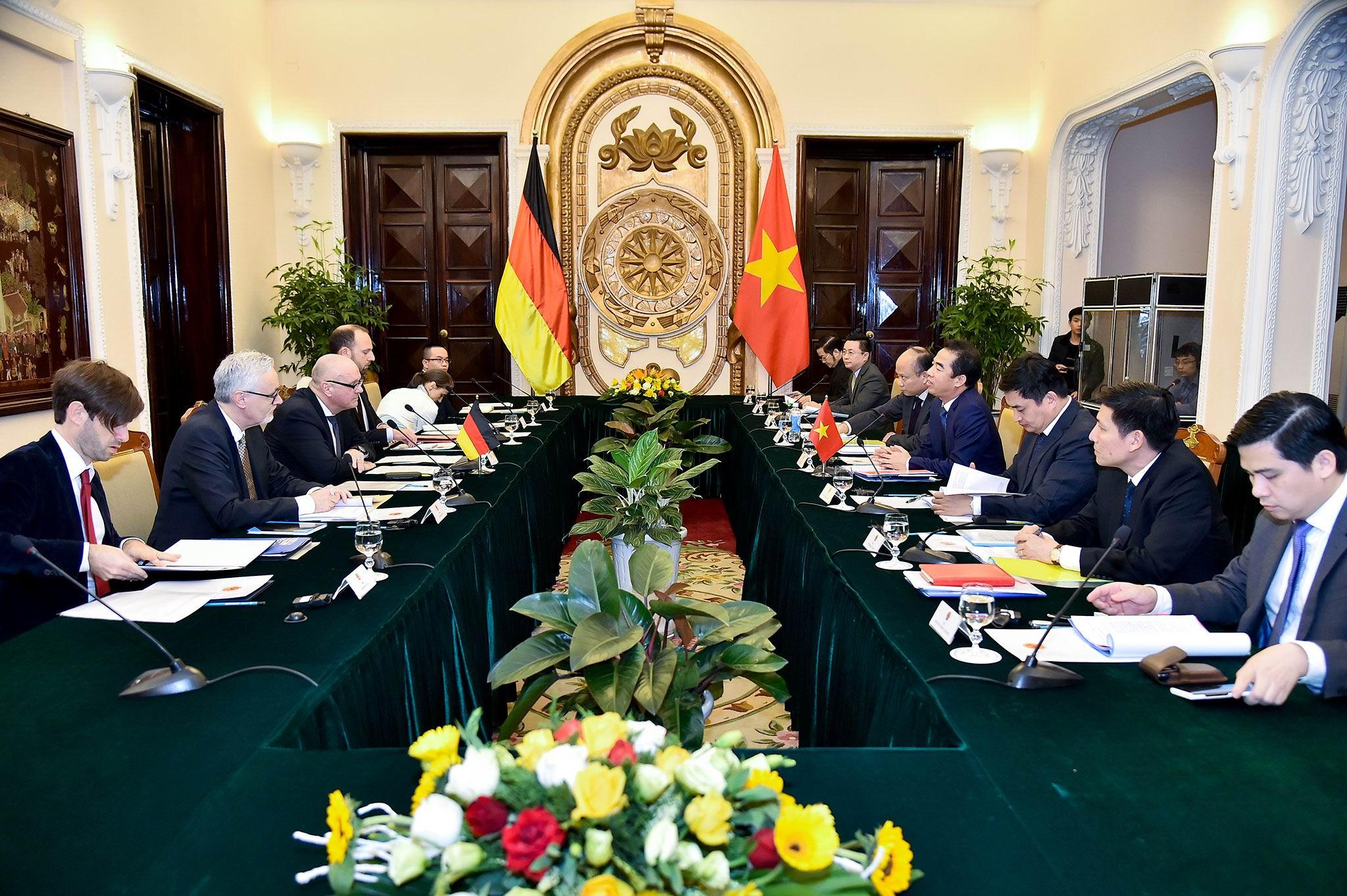 Đưa quan hệ Đối tác chiến lược Việt-Đức sang giai đoạn phát triển mới