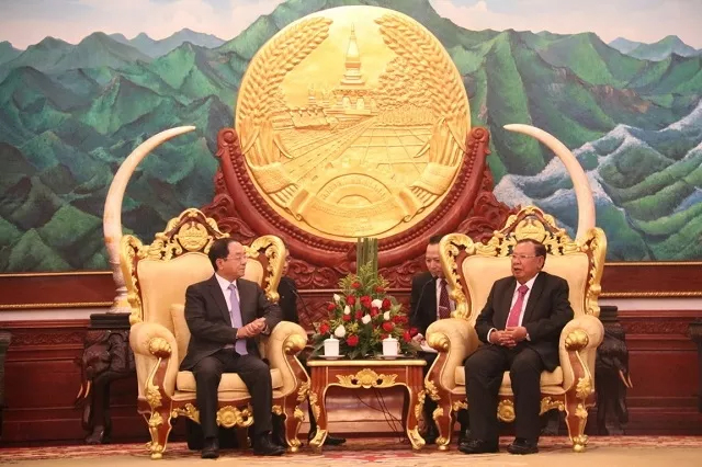 Đẩy mạnh hợp tác Văn phòng Chủ tịch nước Việt Nam và Lào